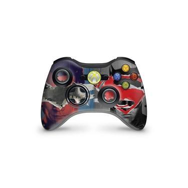 Skin Adesivo Para Xbox 360 Controle - Batman Vs Superman