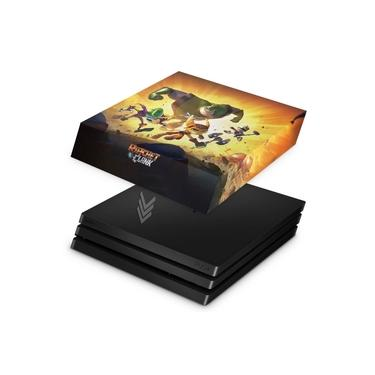 Capa Anti Poeira para PS4 Pro - Ratchet & Clank