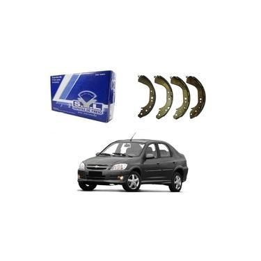 Sapata De Freio Syl Chevrolet Prisma 1.0 1.4 2007 A 2012