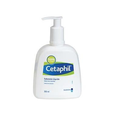 Cetaphil Sabonete Líquido Facial Pele Normal Ou Oleosa Pump 300Ml