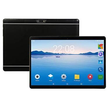 """Imagem de Tablet de 10""""com 10,1"""" Classic Metal Phone Tablet com função de chamada BlackUS"""