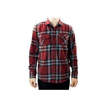 Camisa Masculina Gangster Xadrez Flanela 15.27.0005