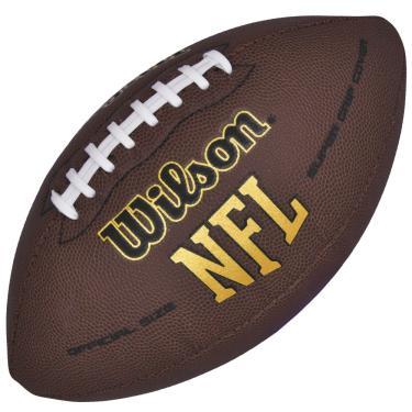 Bola de Futebol Americano Oficial NFL Super Grip - Wilson