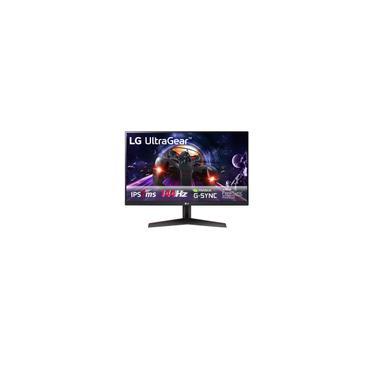 Imagem de Monitor Gamer LG 23,8 Full HD 144Hz 1MS hdmi dp ips hdr Freesync 24GN600-B