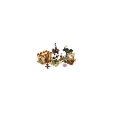 Brinquedo Lego Minecraft - Ataque De Illager 562 Peças