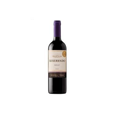 Vinho Tinto Chileno Merlot Concha Y Toro Reservado 750 ml