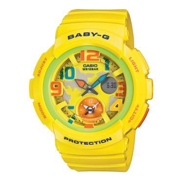 121ecf34121 Relógio Feminino Casio G-Shock Baby-G Analógico Digital BGA-190-9BDR