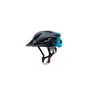 Capacete Para Mtb Bicicleta Tsw Raptor 1 Com Led Traseiro Tamanho M 54/58 Com Regulagem