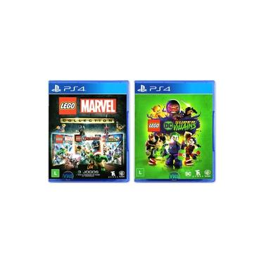 LEGO Marvel Collection + LEGO DC Super Villains - PS4