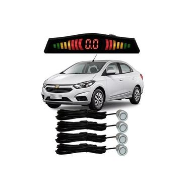 Sensor De Estacionamento Ré Chevrolet Prisma Todos Prata