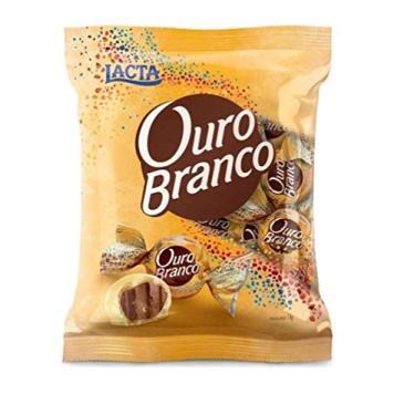 Chocolate Bombom Ouro Branco Lacta Pacote 1kg