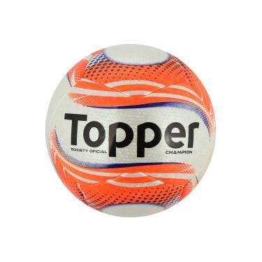 Bola Society Topper Champion - Branco Coral Topper 5874e01d4bd24