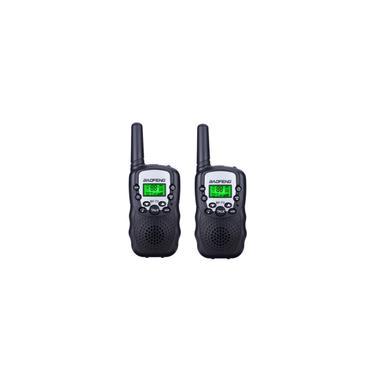 2 unidades mini walkie talkie infantil de longo alcance walkie talkie brinquedo portátil