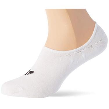 Meias Adidas No-Show 3 Pares FM0676 Brancas G
