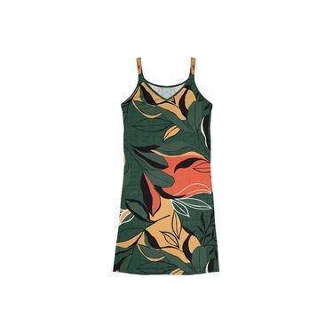 Vestido Estampado Rovitex Verde