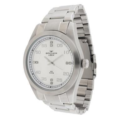 c7cfe520f Relógio Masculino Backer Analógico 6304153M - Prata