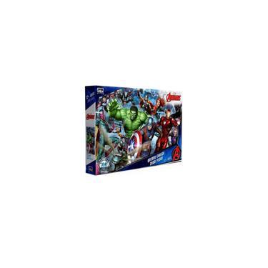 Imagem de Quebra Cabeça 2000 Peças Vingadores Avengers Endgame Marvel