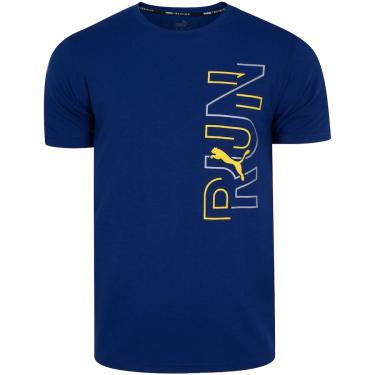 Camiseta Puma Performance Graphic SS - Masculina Puma Masculino
