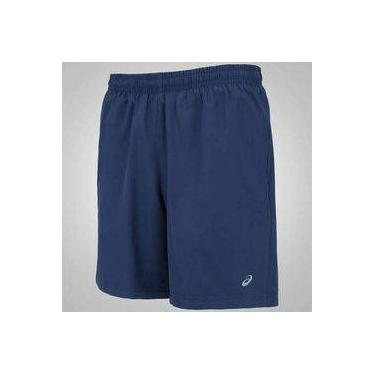Short Asics Fuzex 2 em 1 Masculino Azul