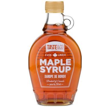 Xarope de bordo Maple Syrup 250ml Taste & Co
