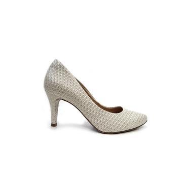 Sapato Scarpin 16-13501 Via Marte (44) - Off White