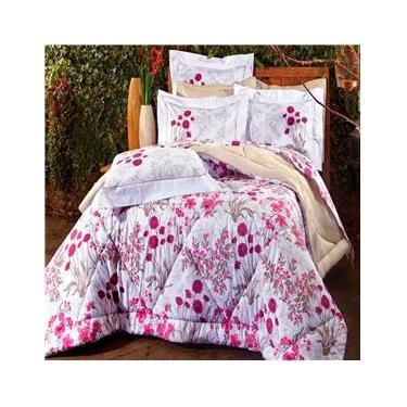 15f3966078 Jogo de Cama Solteiro Sultan Naturalle Fashion Botanic 200 Fios