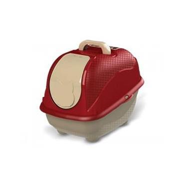 Caixa De Areia Para Gatos Banheiro Para Gatos Cat Box Pop Cor Vermelho
