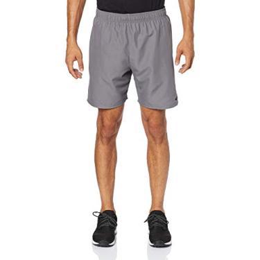Men'S Swim Volley Shorts - Comprimento 7 Nike Homens P Cinza