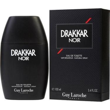 Imagem de Perfume Masculino Drakkar Noir Guy Laroche Eau De Toilette Spray 100 M