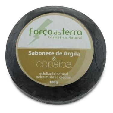Sabonete de Argila e Copaíba 100g - Força da Terra