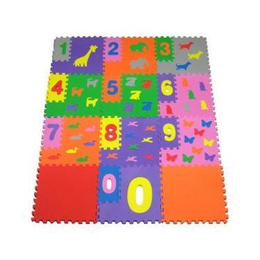 Imagem de Tapete Mingone Brinque Números 120 - 12 peças