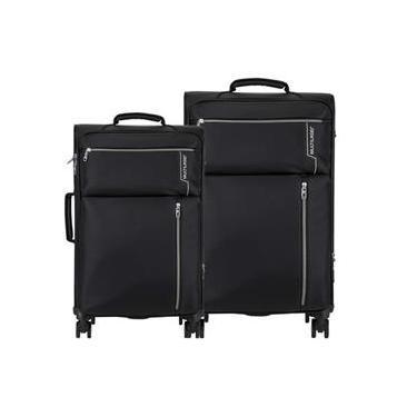 Conjunto de Malas Travel Bags 4 Rodas 20 e 24 Polegadas Preto Multilaser - BO421