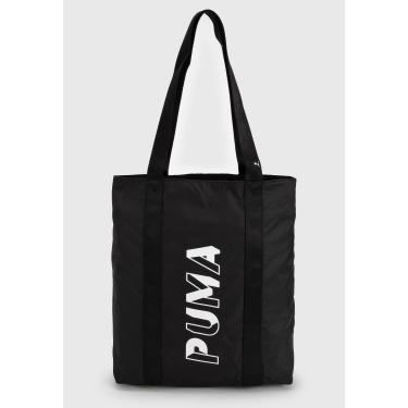 Bolsa Sacola Puma Shopper Preta Puma 77931 01 feminino