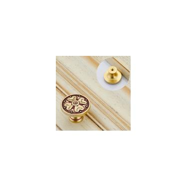 8028 Maçanetas de porta Guarda-roupa Puxador de armário de cozinha Maçanetas de furo único
