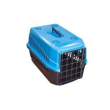 Caixa De Transporte n3 Para Cães E Gatos Grande Azul