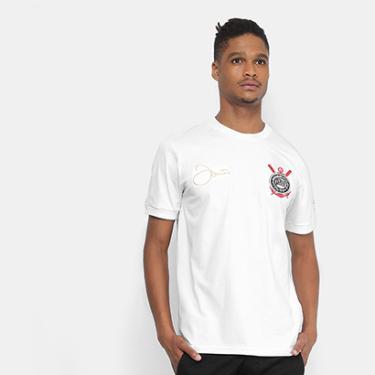 Camisas de Times de Futebol Casuais Corinthians Masculino  bc00a21921eb0