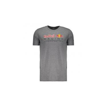 Camiseta Puma Red Bull Racing F1 Team Cinza - P - de0adf6f0d1