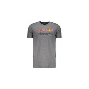 Camiseta Puma Red Bull Racing F1 Team Cinza - P - a6d49088b89