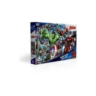 Quebra Cabeça 2000 Peças Vingadores Avengers End Game Marvel
