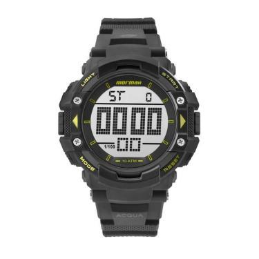 c58138fb0bfa8 Relógio de Pulso Mormaii Plástico   Joalheria   Comparar preço de ...
