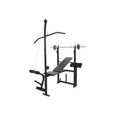 Imagem de Academia Residencial Multi Gym c/ 4kg e Anilhas - Polimet