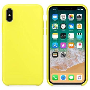 Case For iphone 11 Pro Max XS MAX XR X Cases For Apple IPhone 7 8 6 6S Plus Logo Case with retail box,Flash Yellow,For iphone 7(8)