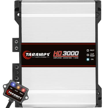 Módulo Taramps Hd 3000 3000w Amplificador Automotivo Módulo Taramps Hd 3000 3000w 1 Ohm Amplificador Automotivo