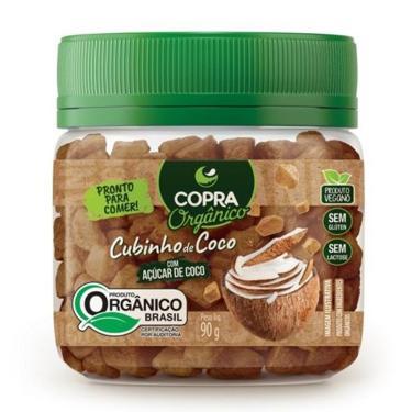 Cubinho de Coco com Açúcar de Coco 90g - Copra