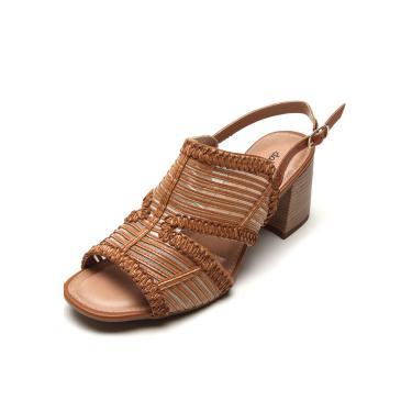 Sandália Dakota Tiras Finas Caramelo Dakota Z5142 feminino