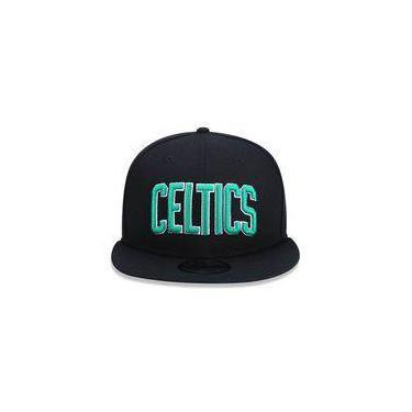Bone 950 Boston Celtics Nba Aba Reta Snapback Preto New Era 49e7afd0af4