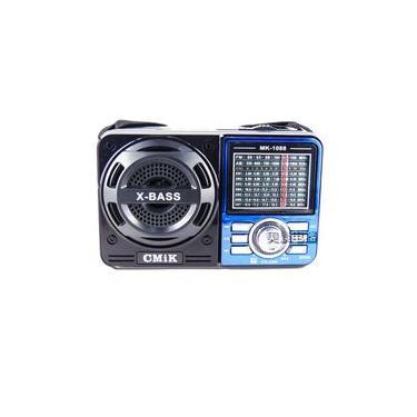 Radio Portatil Am Fm Com Mp3 E Entrada Usb Recarregavel 1080
