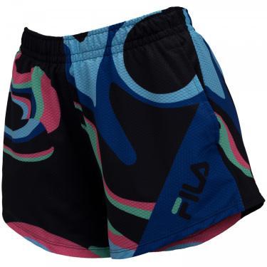 Shorts Fila Summer Deep Colors - Feminino Fila Feminino