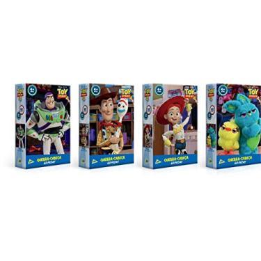 Imagem de Quebra-Cabeça, Toy Story 4, 60 Peças, Toyster, Imagens e Personagens Sortidos