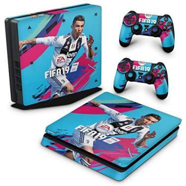 Skin Adesivo para PS4 Slim - Fifa 19
